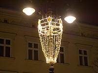 Dekoracja przestrzenna na Rynku Głównym (Kraków 2011)