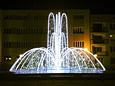 Fontanna świetlna - Czechowice-Dziedzice